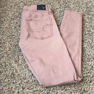 American Eagle jean leggings